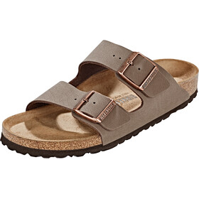 Birkenstock Arizona Sandals Birko-Flor Nubuk Narrow, mocca